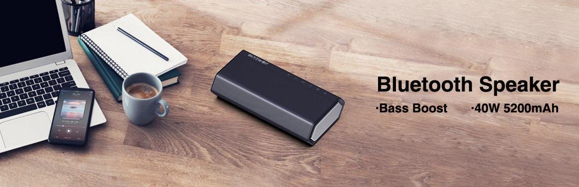 BlitzWolf słuchawki powerbanki głośniki kable USB