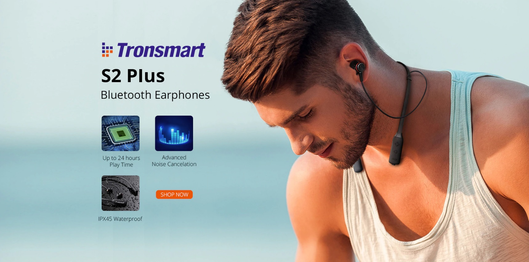 Tronsmart elektronika głośniki klawiatura słuchawki