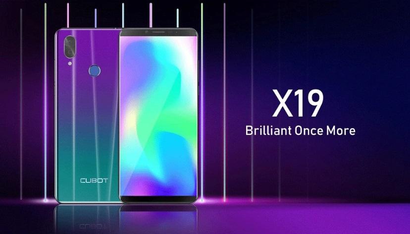 Cubot x19 smartfon